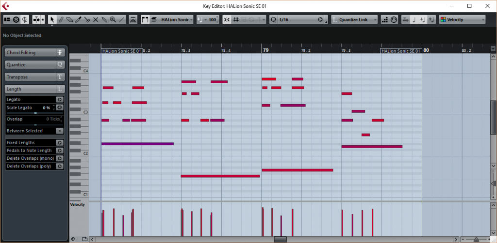 MIDI Detail in Cubase